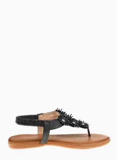 Divarese Sandalet Siyah